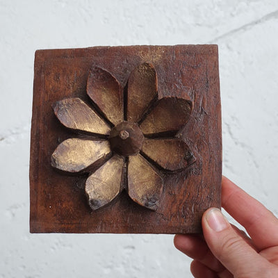 Carved Lotus Flower