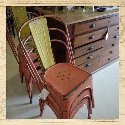 Original French Tolix Chairs