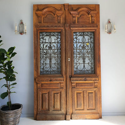 19thC French Entrance Doors