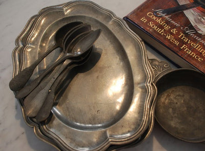 French Pewter Platters