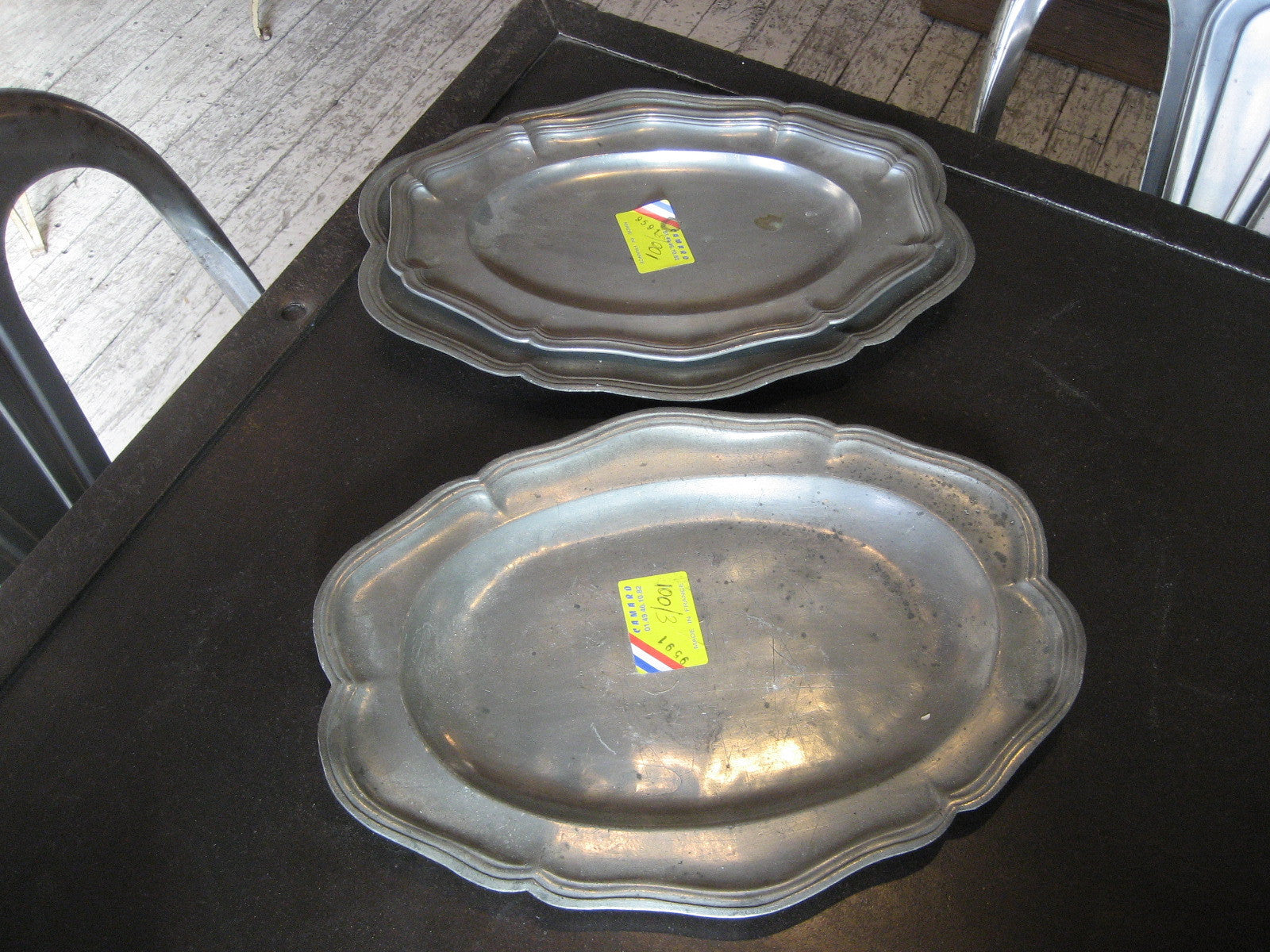 French Pewter Plates