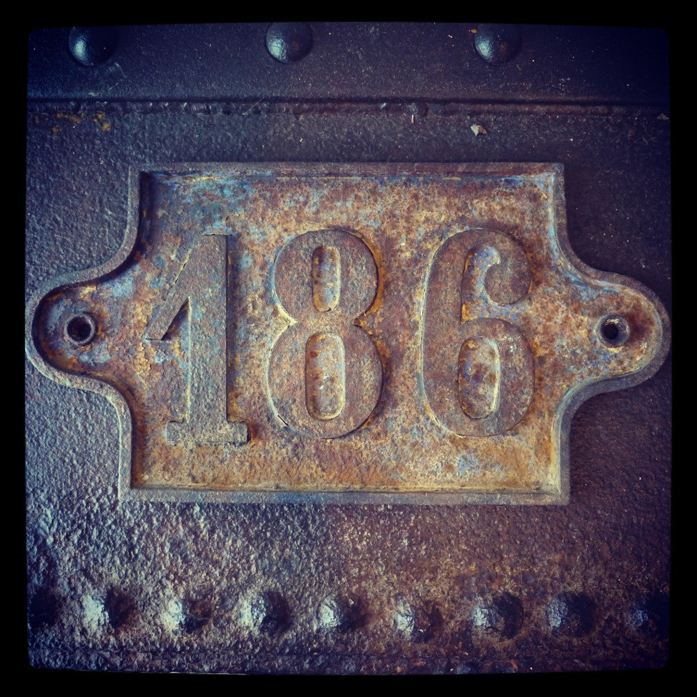 French Cast Iron Number