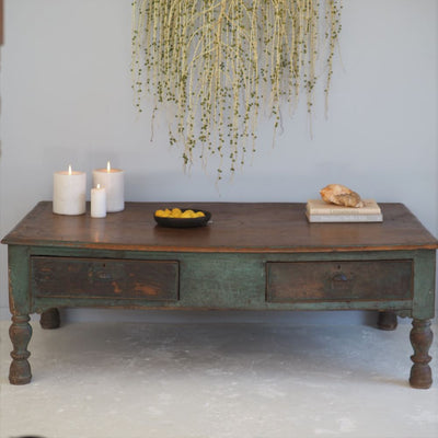 Anglo-Indian coffee table, daybed, Low Table, Antiques, Byron Bay
