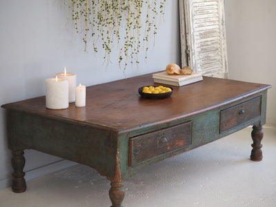 Anglo-Indian Low Table, Antiques, Byron Bay