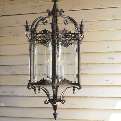 Antique Bronze Lantern