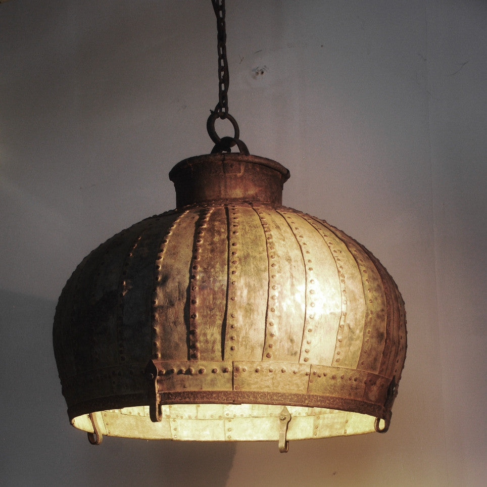 Rivetted Industrial Lights