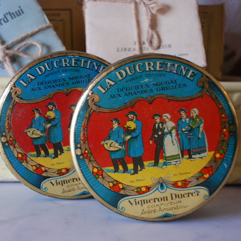 French Nougat Tins