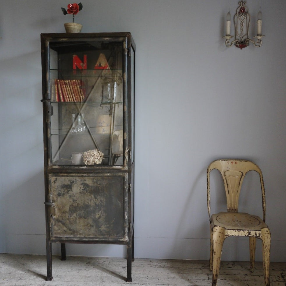 French Apothecary Cabinet