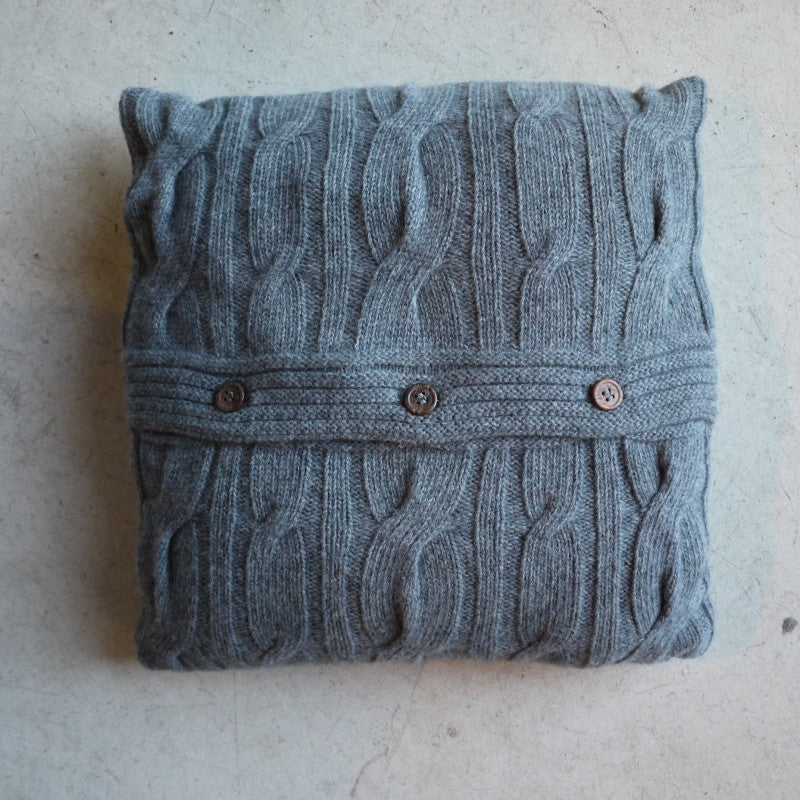 Cableknit Cushion