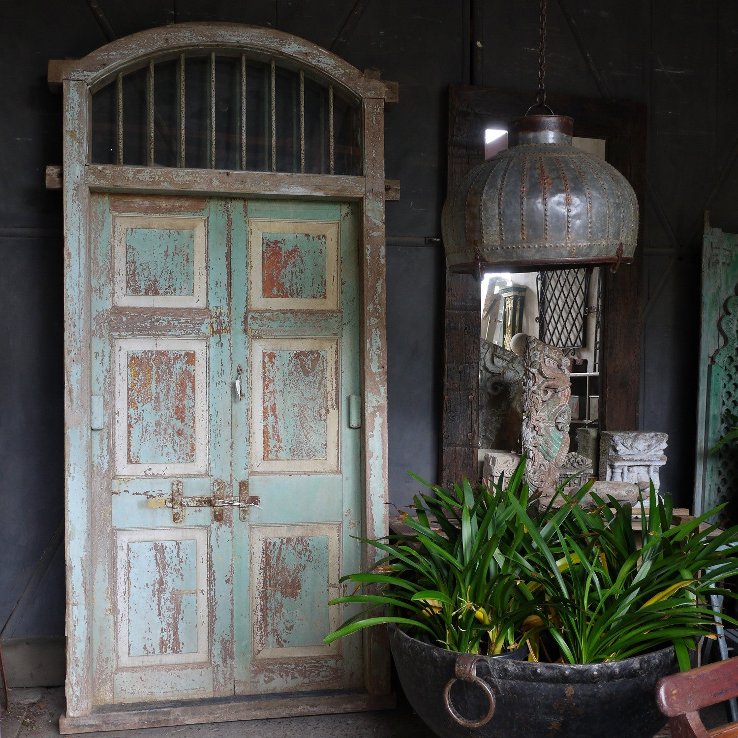 Anglo-Indian Entry Doors