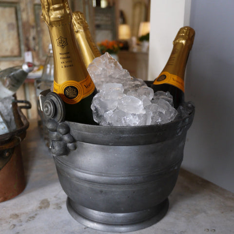 Pewter Ice Bucket - HIRE
