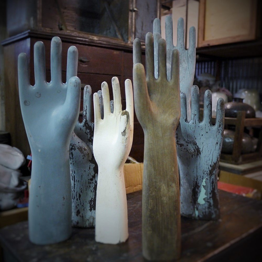 Wooden Glove Moulds