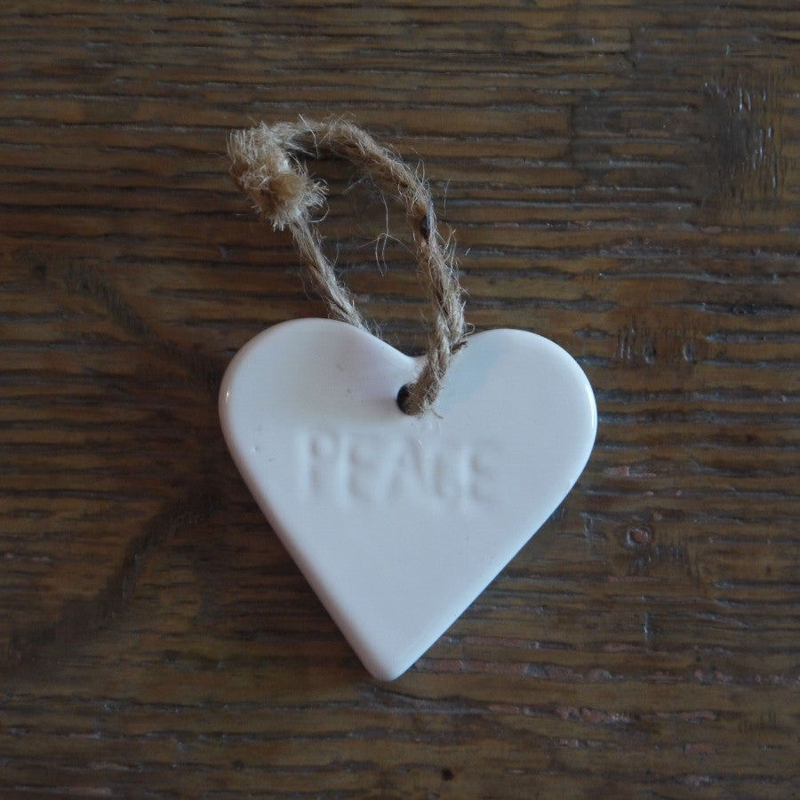 White Ceramic Tags