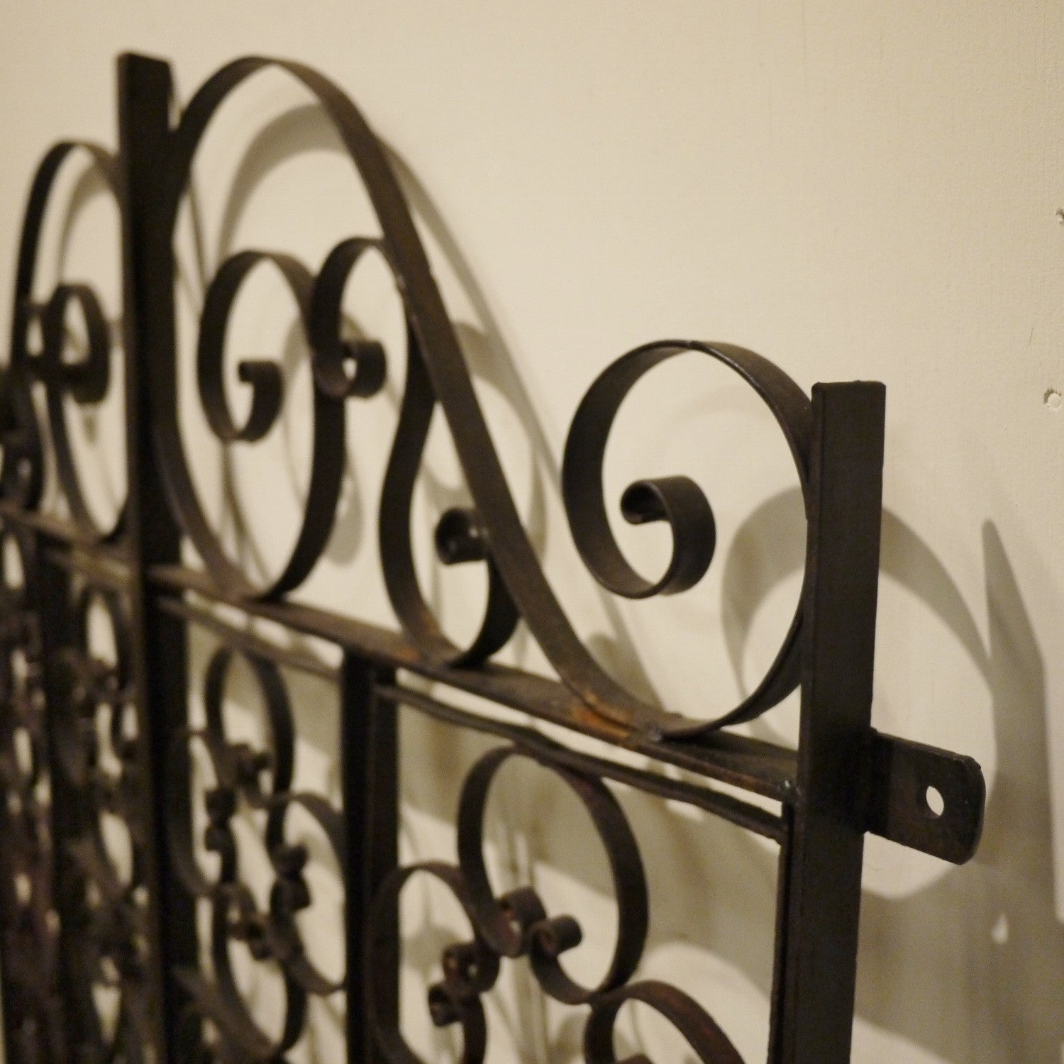 Decorative Wrought Iron Panel