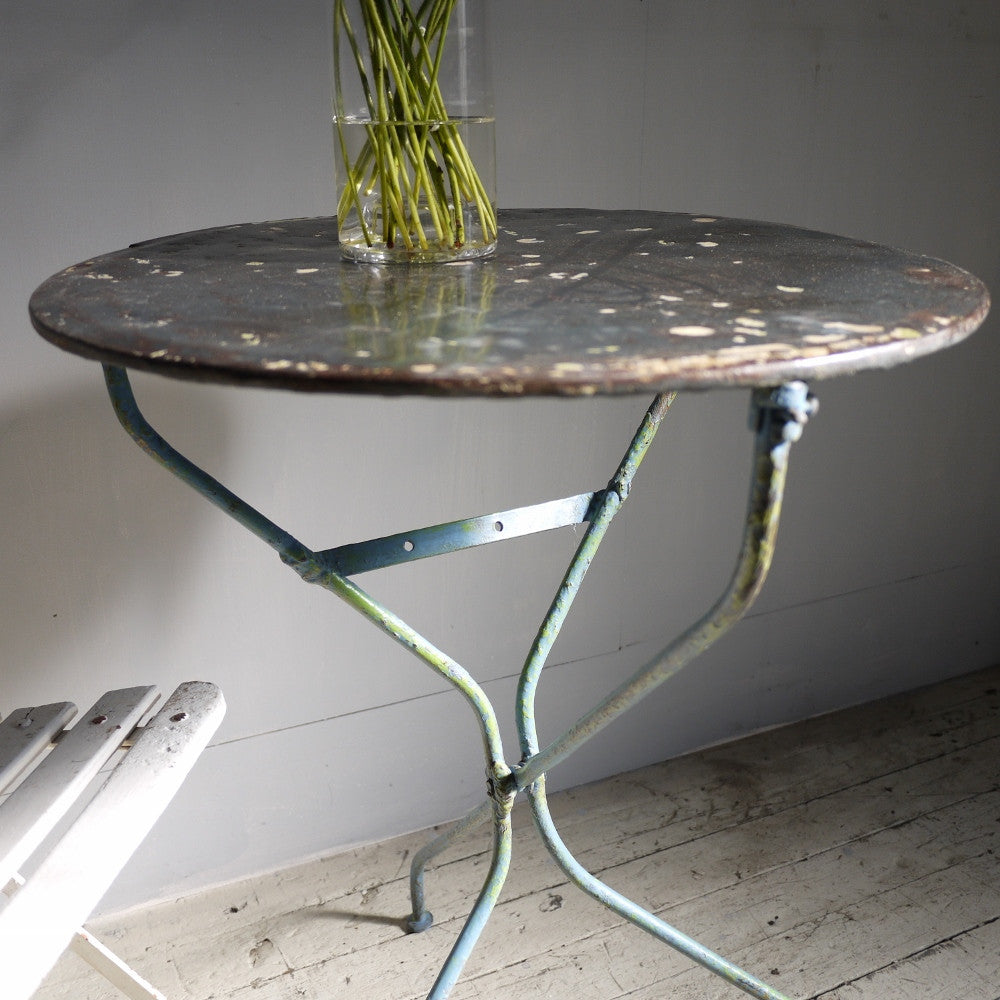 French Iron Cafe Tables