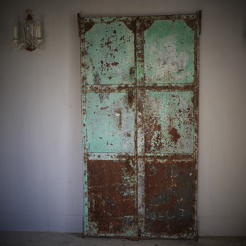 Riveted Metal Doors