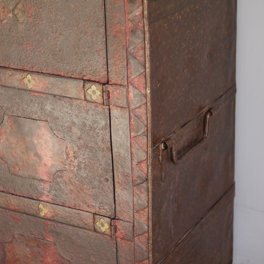 Antique Metal Safe