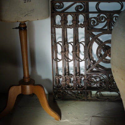Wrought Iron Grille Single