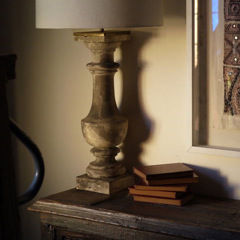 French Balustrade Lamp