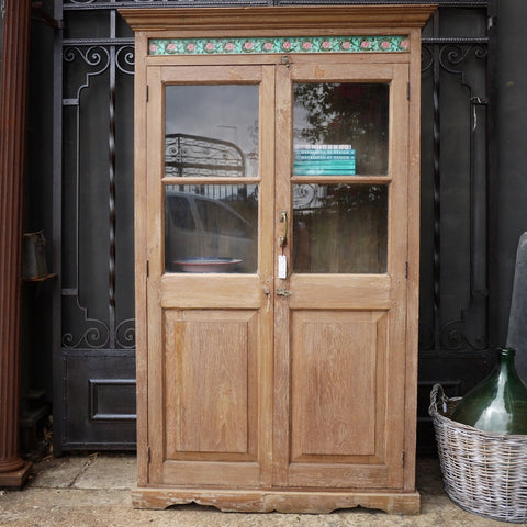 Anglo-Indian Glazed Cabinet