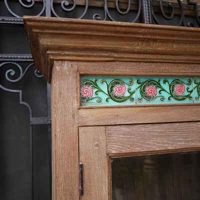 Anglo-Indian Glazed Cabinet, Antiques, Byron Bay