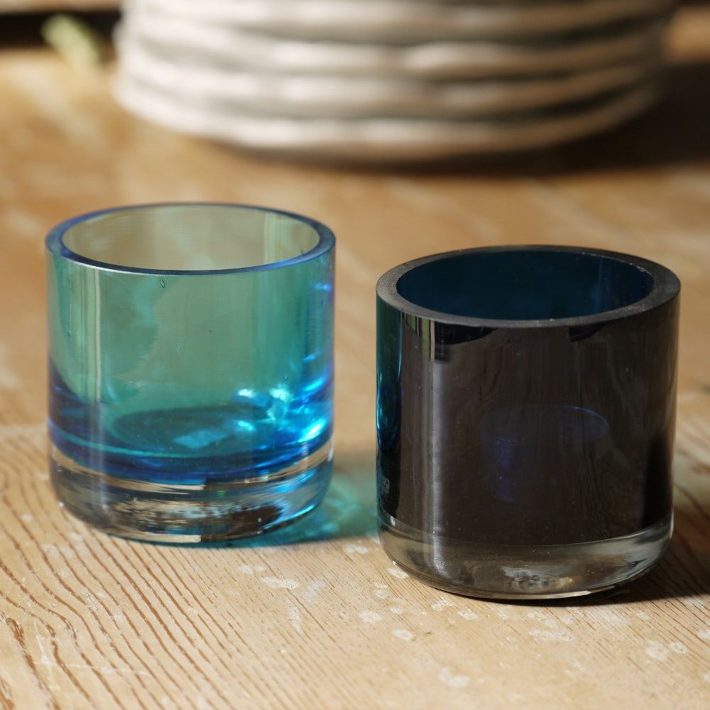 Scandinavian Blue Votives