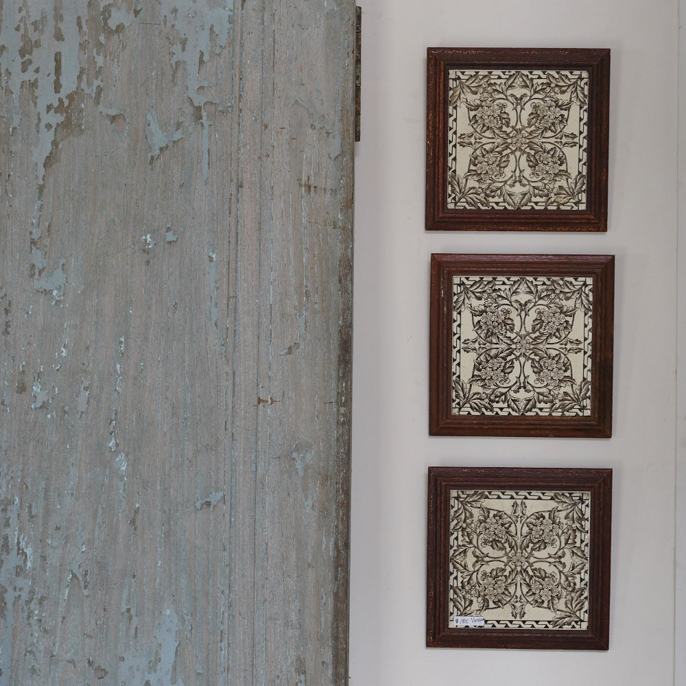 Framed Antique Tiles