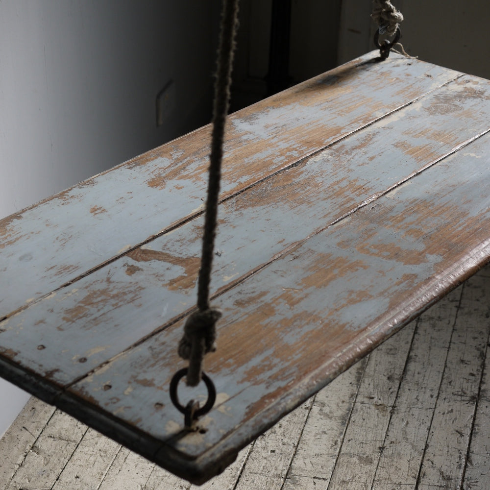 Vintage Wooden Swing Bench