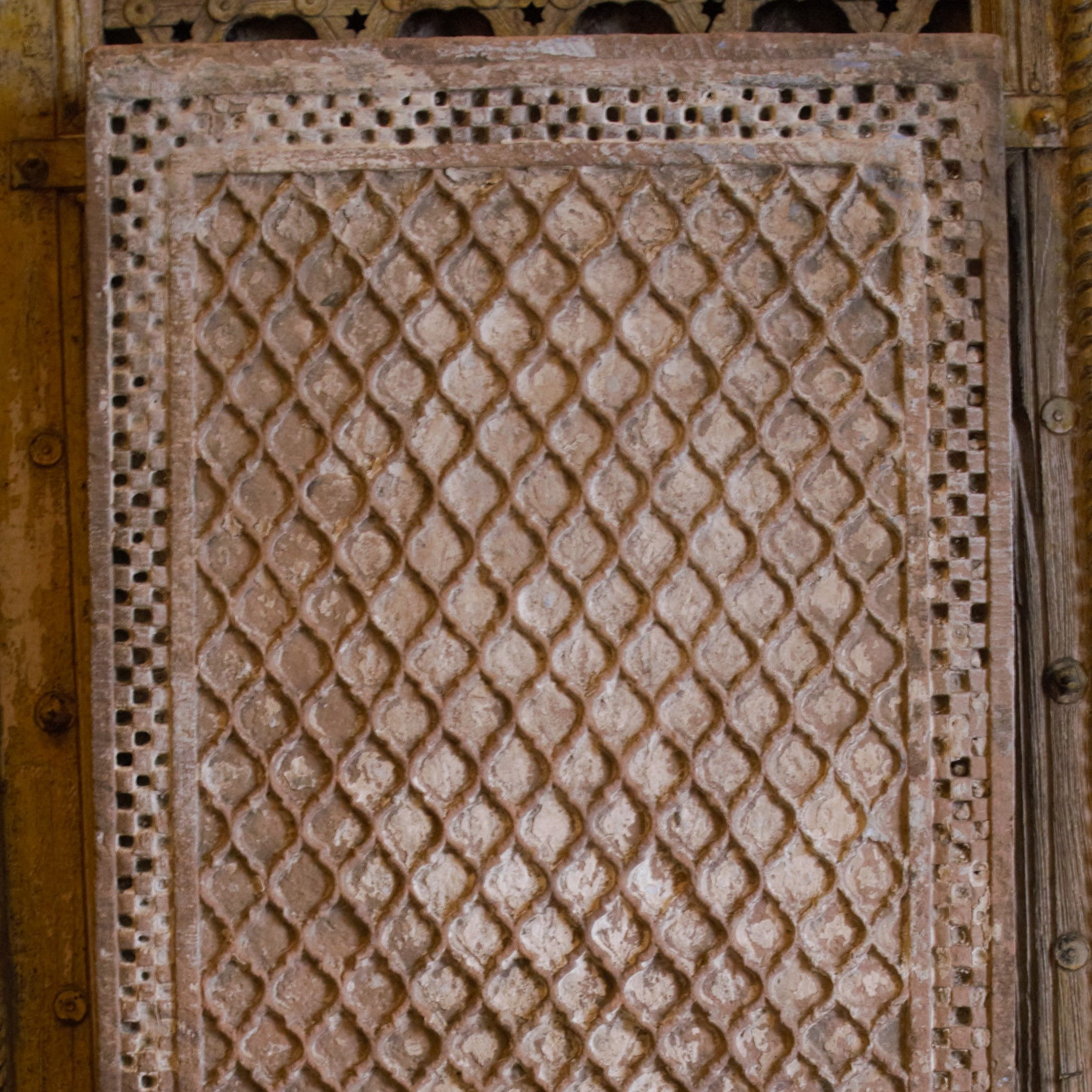 Early Mughal Stone Panel