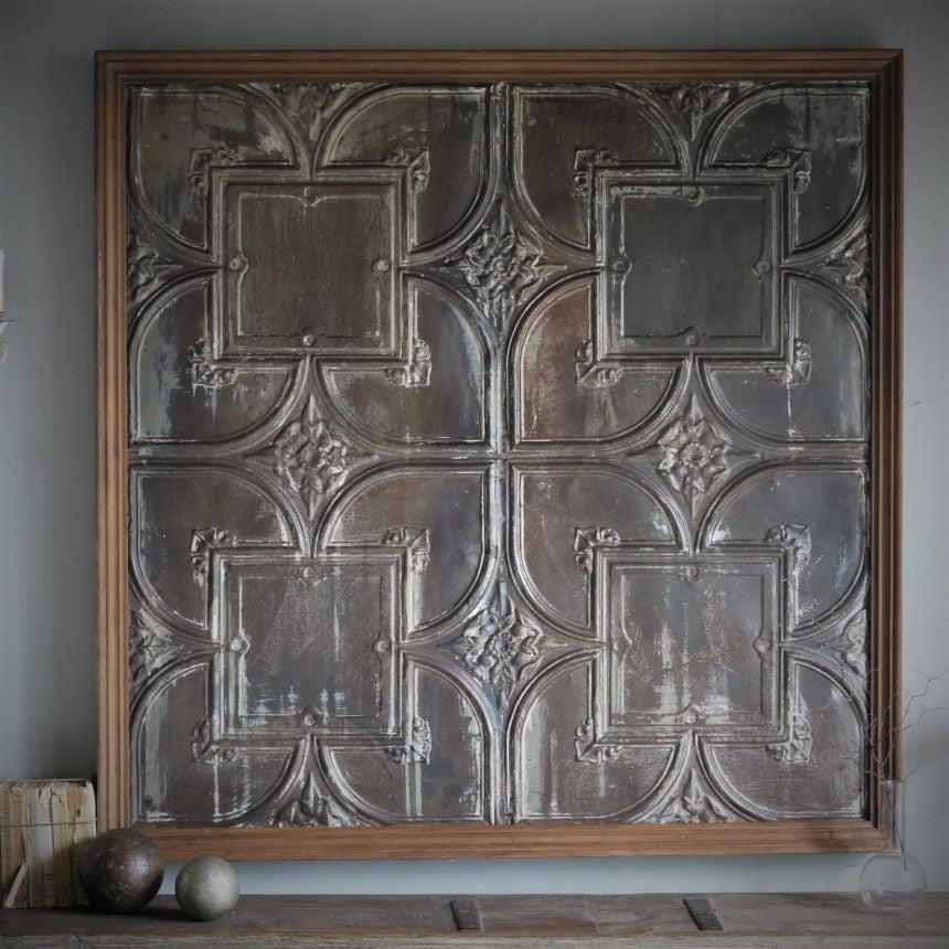 Pressed Metal Panel~Med