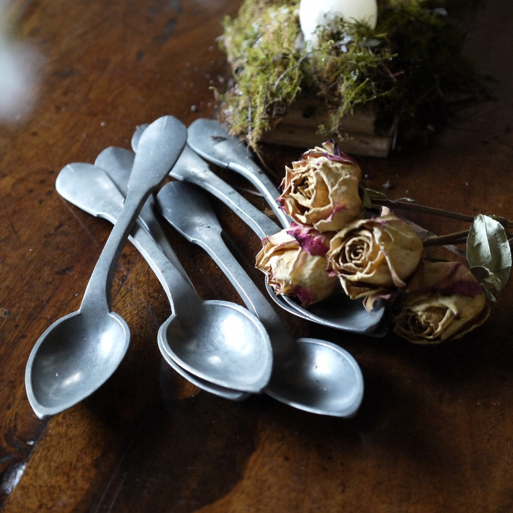 French Pewter Spoons