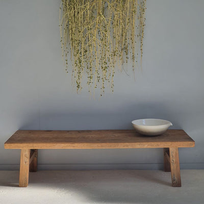 Raw Elm Coffee Table