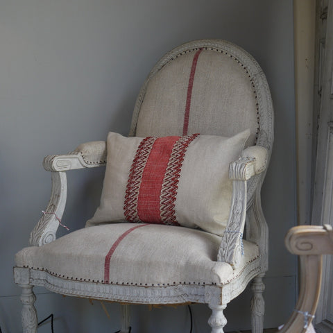 19thC French Armchair Louis XVI style