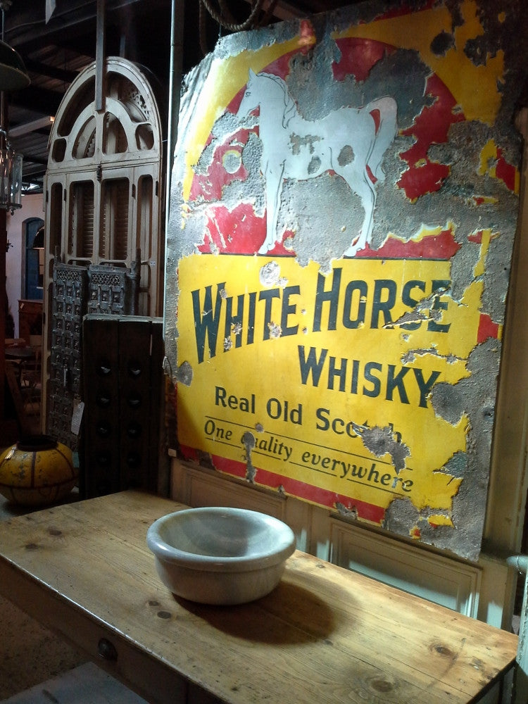 Quot White Horse Quot Whisky Sign Elements I Love