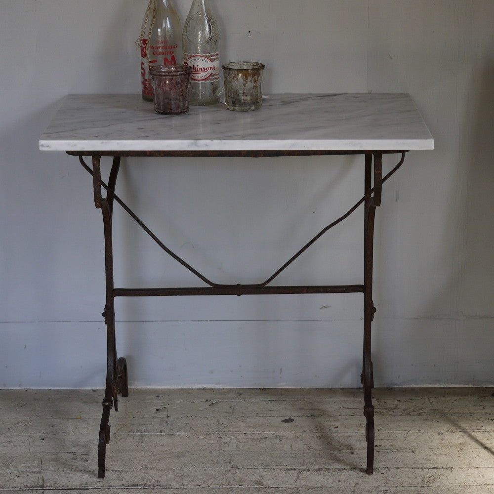 Wrought Iron Cafe Table