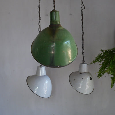 Offset Industrial Pendant light
