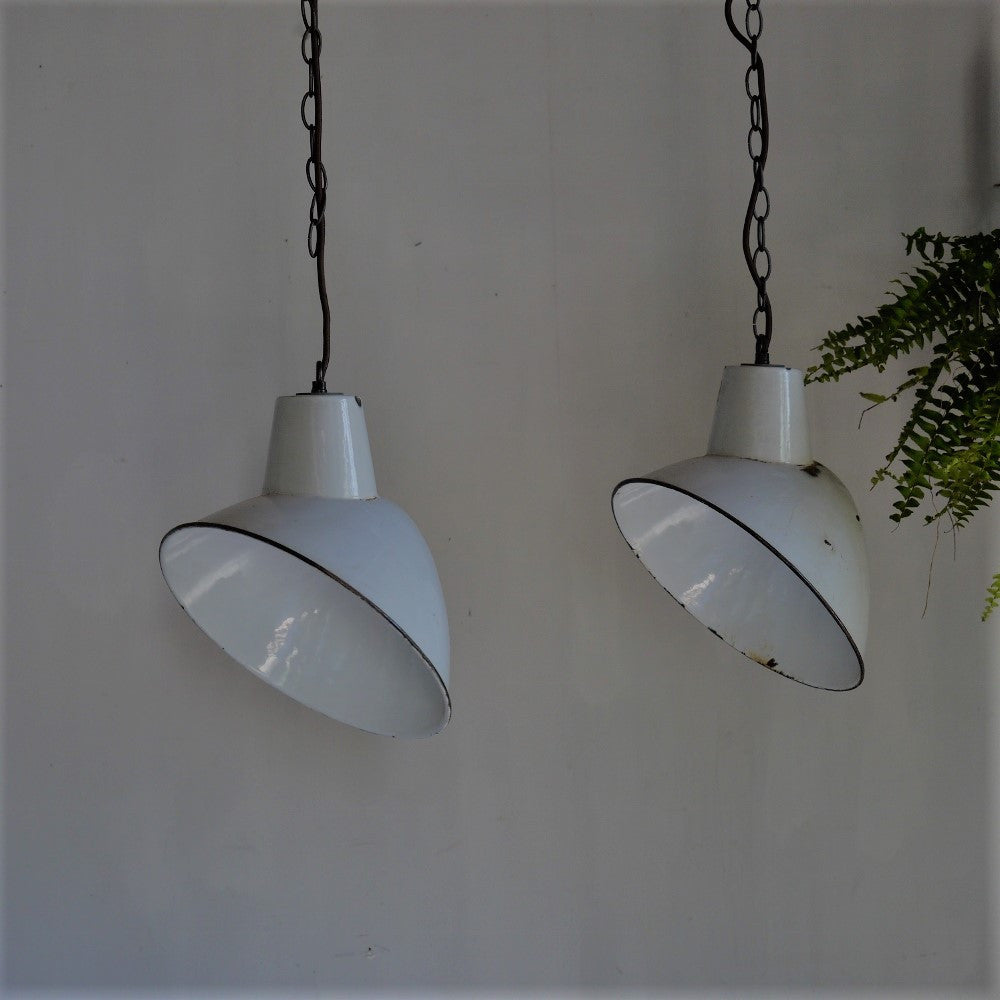 Pair of Industrial Lights