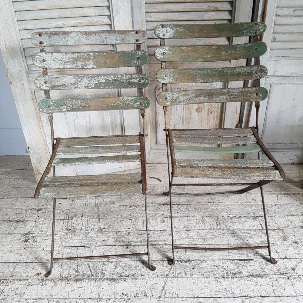 'Rustic' French Cafe Chairs