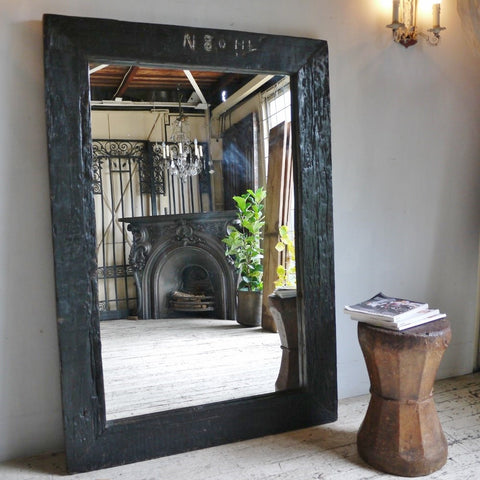 Industrial Painted Mirror