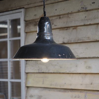 French Industrial Lights