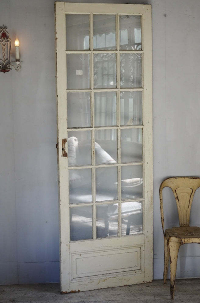 Simple Glazed French Door