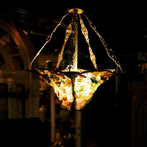 Bejewelled Pendant Light
