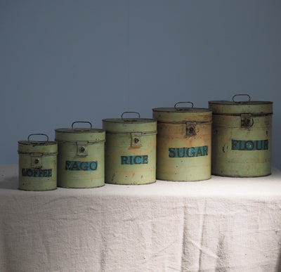 Vintage Cannisters