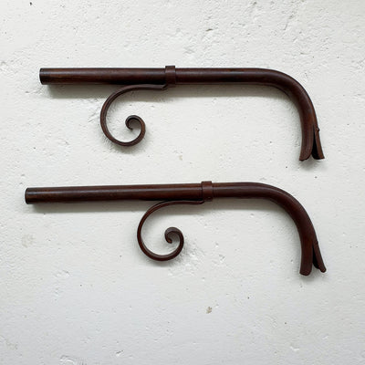 Hand-forged Iron Spout