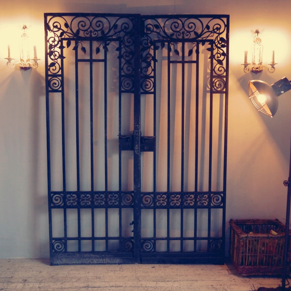 19thC Wrought Iron Gates