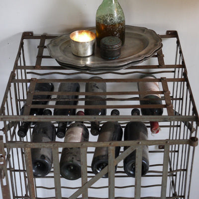 French Iron Wine Cage