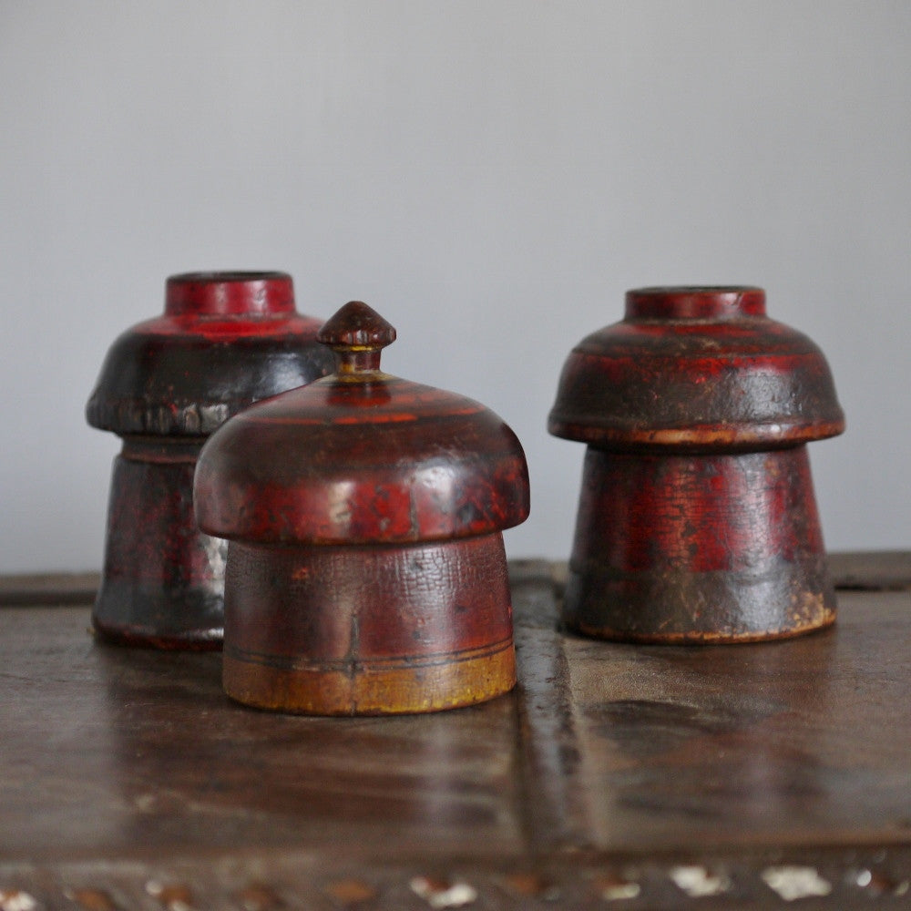 Set B-Indian Pigment Pots