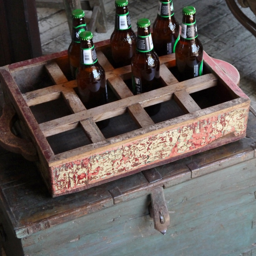 Wooden Caddie/Drinks Holder