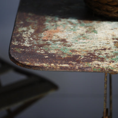 Rustic French Cafe Table