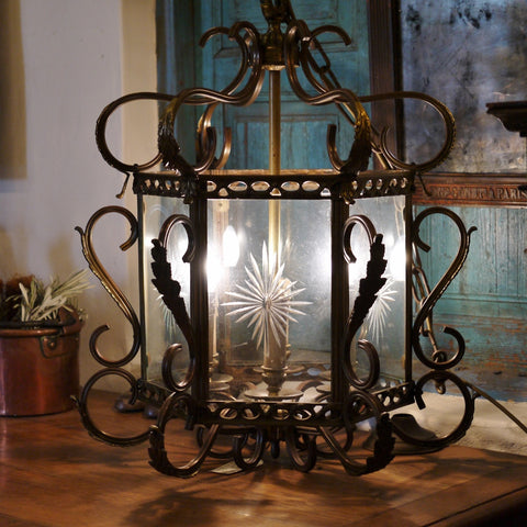 Ornate Bronze Lantern